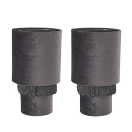 image-Rauth Table Lamp Set Rosalind Wheeler Shade Colour: Grey, Bulb Type: LED Bulb