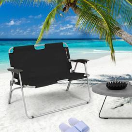 image-Jessenia Metal Folding Chair Dakota Fields