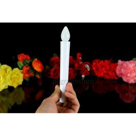 image-Christmas LED Battery Powered Taper Flameless Candle Symple Stuff