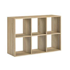 image-Zendejas Bookcase Mercury Row Colour: Sonoma
