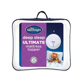 image-Silentnight Deep Sleep Luxury Mattress Topper, Single