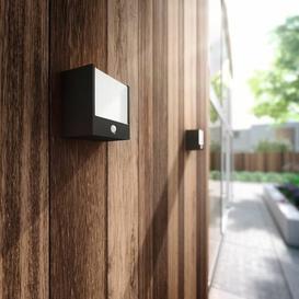 image-Lemelin LED Outdoor Bulkhead Light with Motion Sensor Sol 72 Outdoor