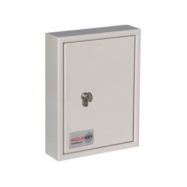 image-Securikey Key Vault 30 Security Key Cabinet, Light Grey, Free Door To Door Delivery