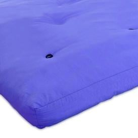 image-15cm Futon Mattress Symple Stuff Size: Small Double (4'), Colour: Dark Blue