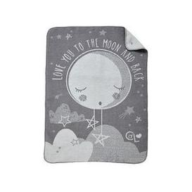 image-Clair De Lune Clair De Lune Over The Moon Fleece Blanket