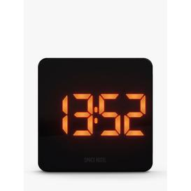 image-Space Hotel Orbatron LED Digital Alarm Clock, Black