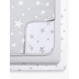image-Sn├╝z Star Crib Fitted Sheet and Blanket 3 Piece Set