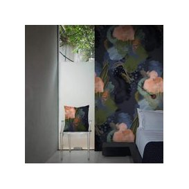image-English Rose Wallpaper by Feathr (colour: Midnight)