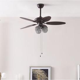 image-104cm Thack 5 Blade Ceiling Fan Latitude Run