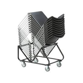 image-Trolley For Chabas Occasional Chairs, Black