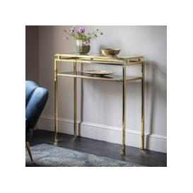 image-Gallery Direct Cosenza Console Table Gold