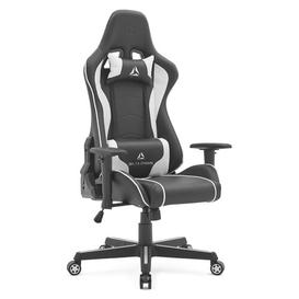 image-Shryock Ergonomic Gaming Chair Brayden Studio Colour: Black/White