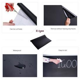 image-Removable Sticker Wall Mounted Chalkboard Symple Stuff