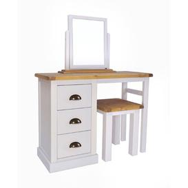 image-Beckenham Dressing Table Set with Mirror Brambly Cottage