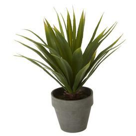 image-30cm Artificial Agave Plant in Pot August Grove