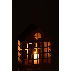 image-House Delta Iron Lantern Brambly Cottage Colour: Gold