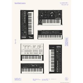 image-East End Prints Florent Bodart Synthesizers Poster Wall Art