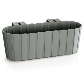 image-Calkins Plastic Balcony Planter Freeport Park Colour: Grey