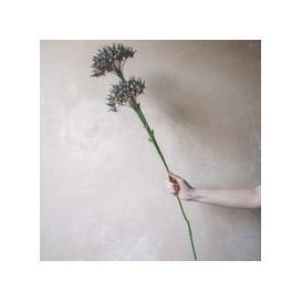 image-Faux Purple Rosales Flower