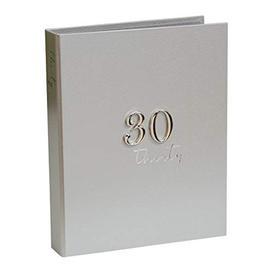 """image-""""5"""""""" x 7"""""""" - Milestones Birthday Photo Album - 30"""""""