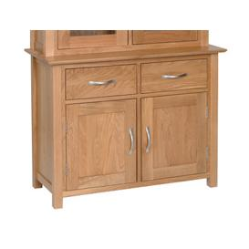 image-Clearance Devonshire New Oak Furniture 3ft Dresser Base