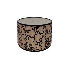 image-30cm Cotton Drum Lamp Shade Rosalind Wheeler Colour: Light Cream