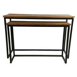 image-Goggans 2 Piece Nest of Tables Williston Forge
