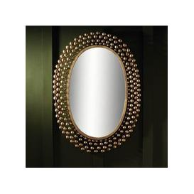 image-Winster Contemporary Wall Mirror Oval In Gold