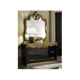 image-Camel Barocco Black and Gold Dresser
