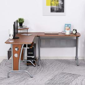image-Reddin L-Shape Executive Desk Ebern Designs