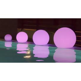 image-Garima White Solar Powered LED Floor Lamp Sol 72 Outdoor