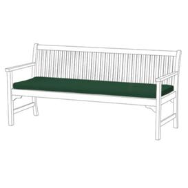image-Bench Cushion Sol 72 Outdoor Colour: Green