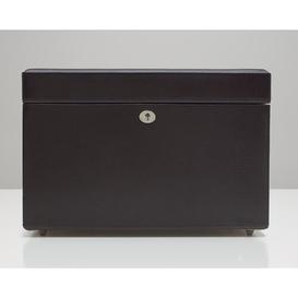 image-London Medium Jewellery Box WOLF Colour: Cocoa