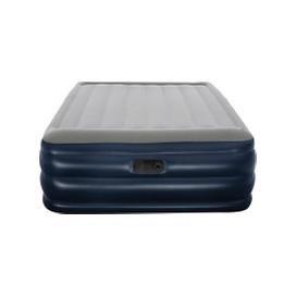 image-Queen Nightright Raised Airbed Grey