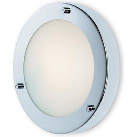 image-Firstlight Rondo 2745 Chrome Flush Fitting / Wall Light