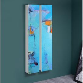 image-Multitalent 30 Motif 136 Abstract 8 Pair 2 Piece Shoe Storage Cabinet Set Ebern Designs