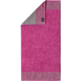image-Two-Tone Hand Towel Caw├╢ Colour: Berry