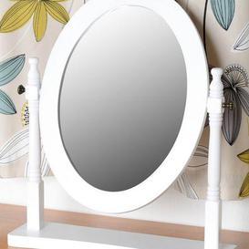 image-Contessa White Dressing Table Mirror White