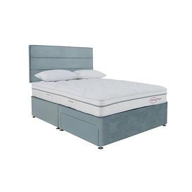 image-Sleepeezee - Memory Touch Ortho Divan Set - King Size - Blue