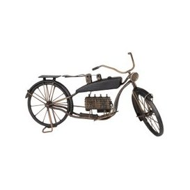 image-Black Metal Motorbike Ornament L51
