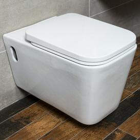 image-Chao Wall Hung Toilet with Soft Close Seat Belfry Bathroom