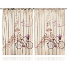 image-Paris Pinch Pleat Blackout Thermal Curtains East Urban Home Dimensions per curtain: 225cm H x 140cm W