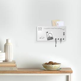 image-Perpetual Calendar Key Hook Ebern Designs Finish: White