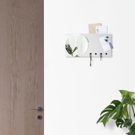 image-Wall Mirror Key Hook Ebern Designs