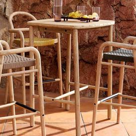image-Northey Wooden Bar Table Sol 72 Outdoor