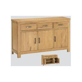 image-Andorra Washed Oak Large Sideboard