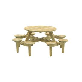 image-Alexander Rose Pine Gleneagles 8 Seat Picnic Table