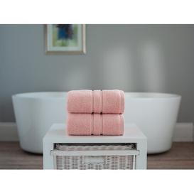 image-2 Piece Face Cloth Towel Bale Symple Stuff Colour: Blossom