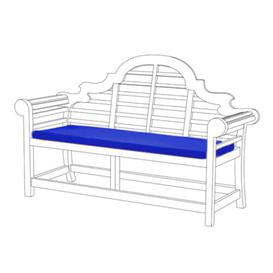 image-Bench Cushion Sol 72 Outdoor Colour: Blue