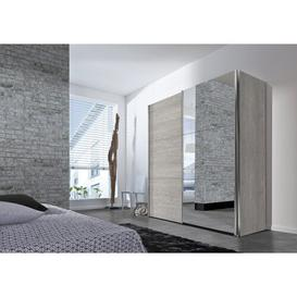 image-Mueller 2 Door Sliding Wardrobe Ebern Designs